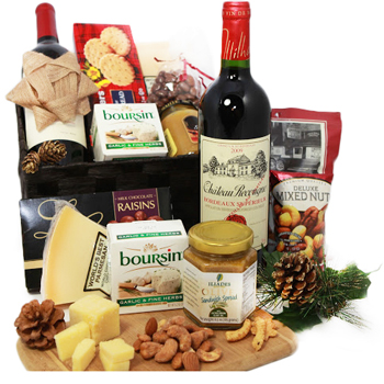 cestas de regalo gourmet
