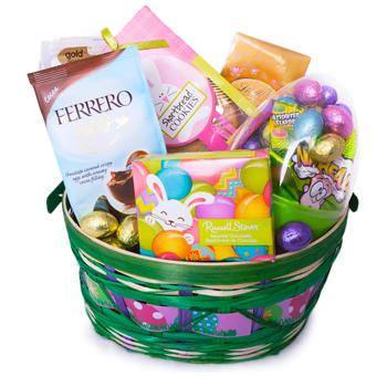 cesta de regalo de Pascua para Rusia