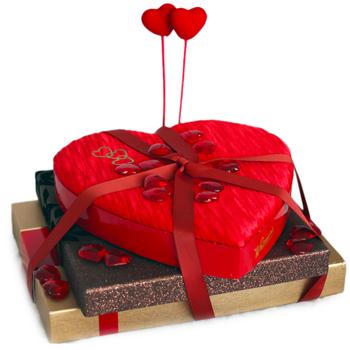 Bombones y regalos para San Valentín