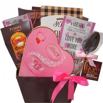 Chocolates y regalos para Canada