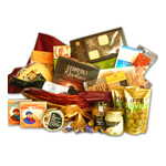 Cheese & Crackers Gourmet Basket