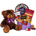 Send Romantic Gift Baskets to Irak apo fpo