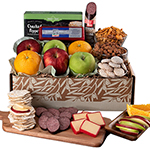 Simply Elegant Fruit Gift Basket