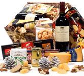 Cheese & Crackers Gourmet Basket