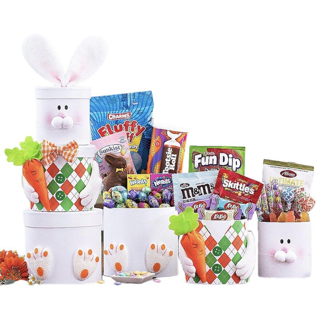 cestas de regalo para pascua para niños